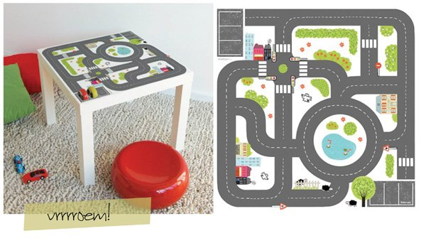 Sticker voor Ikea tafel