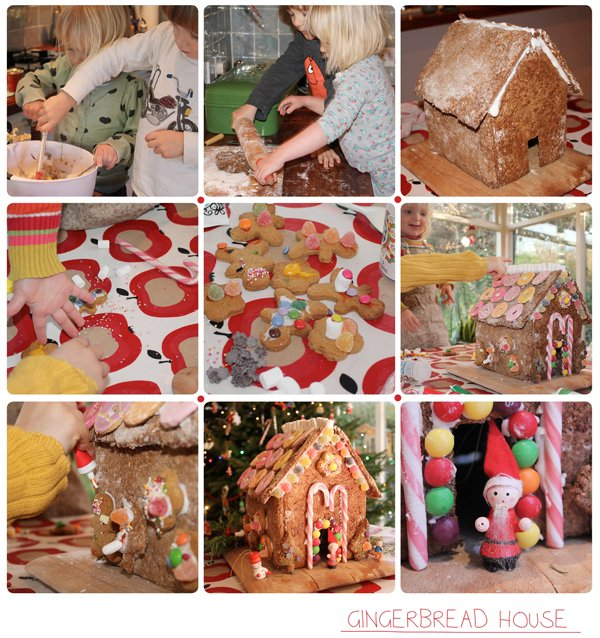 kersthuis maken gingerbread house how to