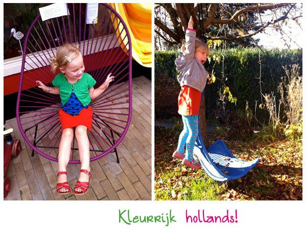 hiskia, gestipt, kleurrijke kinderkleding