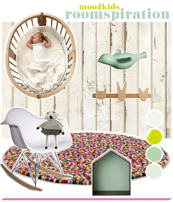 roomspiration, inspiratie voor de kinderkamer babykamer