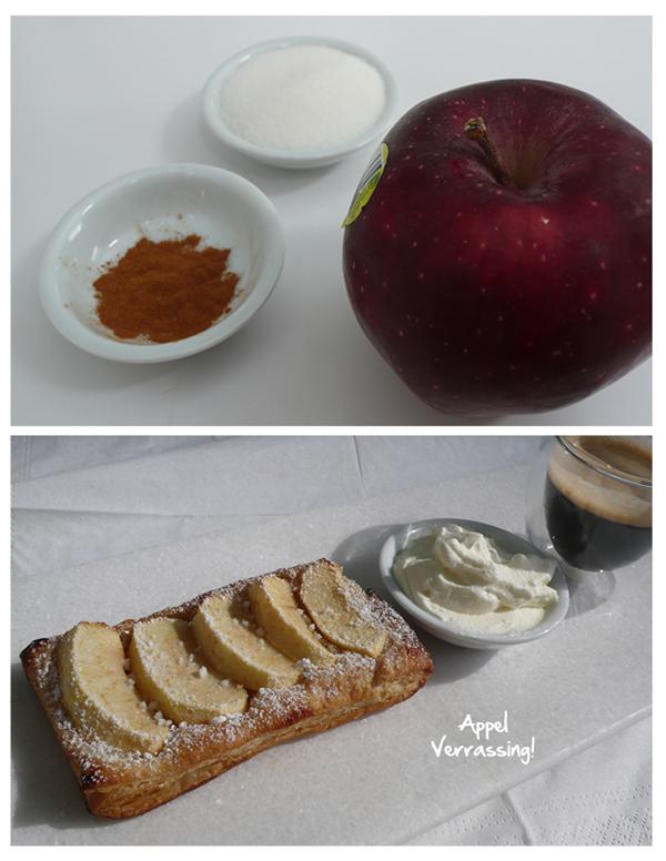Deze krokante appeltaartjes zijn leuk voor je kinderen om zelf te bakken. Niet ingewikkeld en zo klaar. Ook handig als je ineens bezoek hebt.