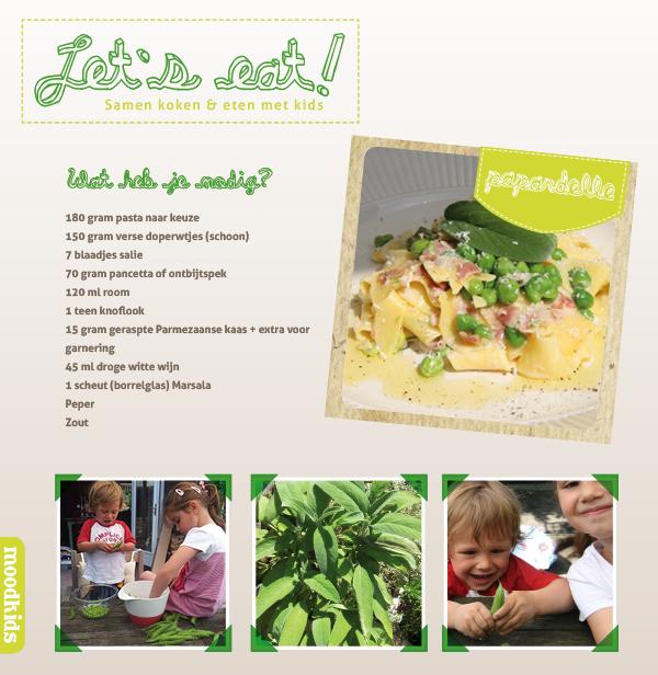 paperdelle recept voor kids