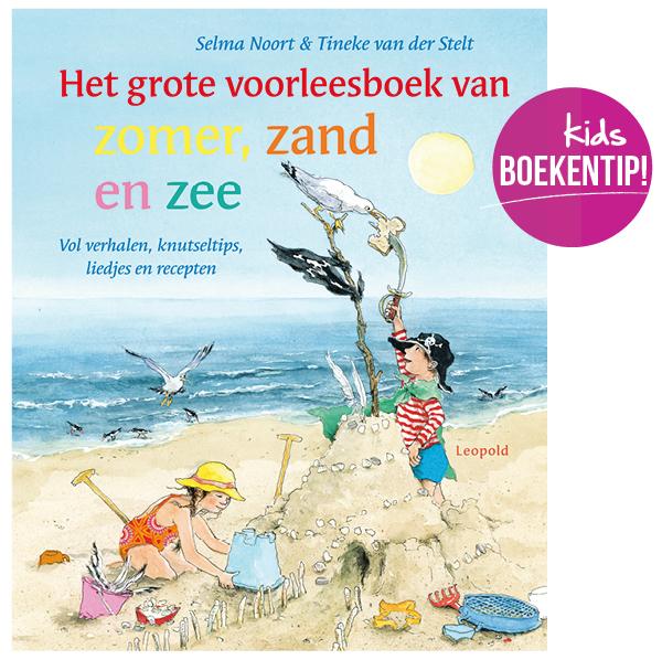 het grote voorleesboek van zomer zand en zee