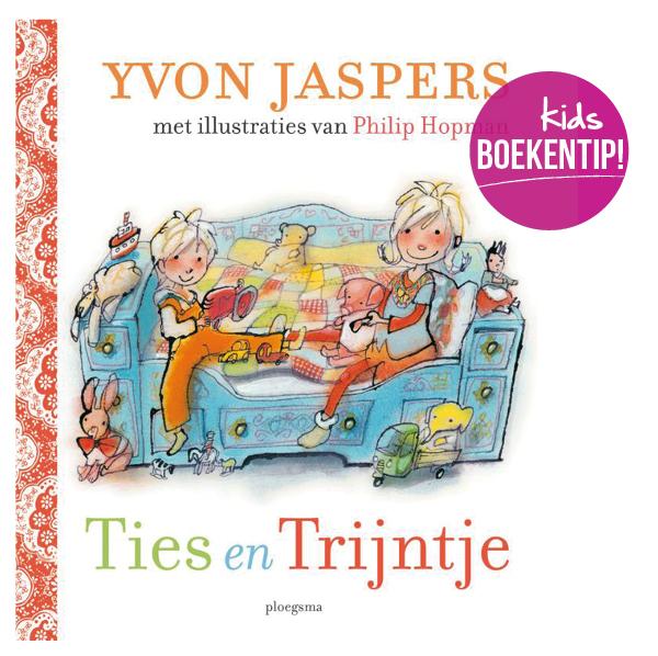 boekentip, kinderboekrecensie, ties en trijntje, yvon jaspers