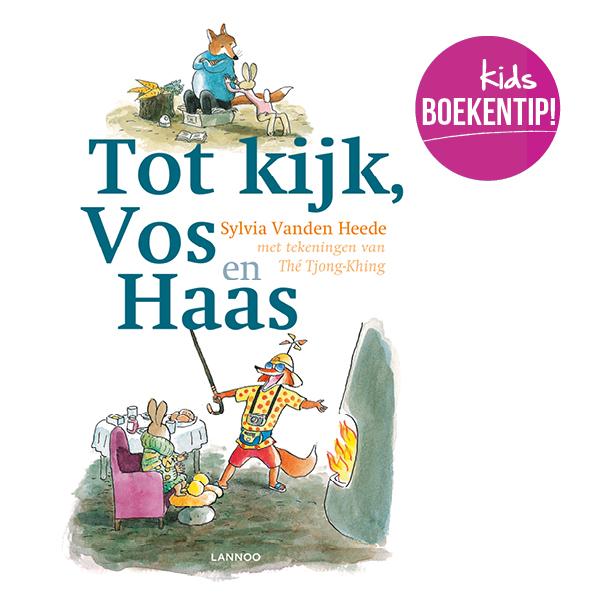 tot kijk vos en haas, kinderboek recensie