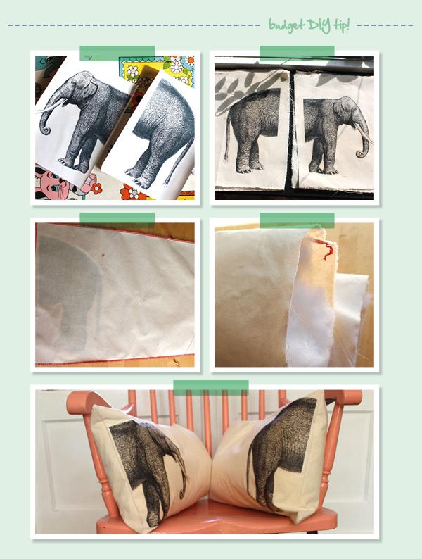 diy budget friendly textiel bedrukken