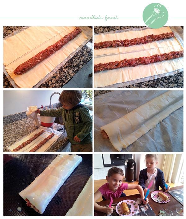 recept sausijzenbroodjes zelf maken