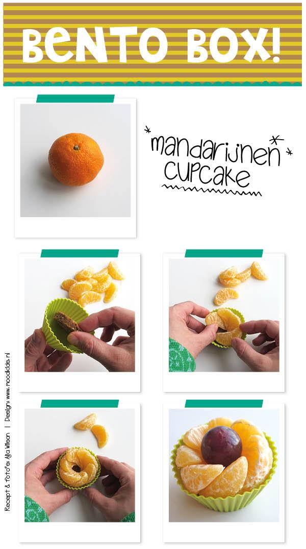 De meeste kinderen zijn dol op mandarijnen. Hier thuis ook! Ze zijn ook leuk om mee te geven in de broodtrommel. Serveer ze als een mandarijnen cupcake. Je leest hier hoe.