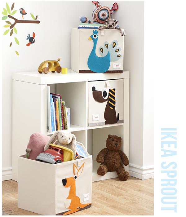 Opbergen in de kinderkamer - MoodKids ♥ Organizing | MoodKids