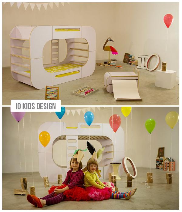 io design voor kids, design kindermeubels voor de kinderkamer