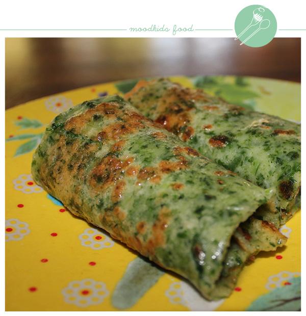 recept groene pannenkoeken