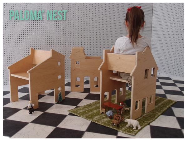 palomas nest, neighborhood chairs, kids design