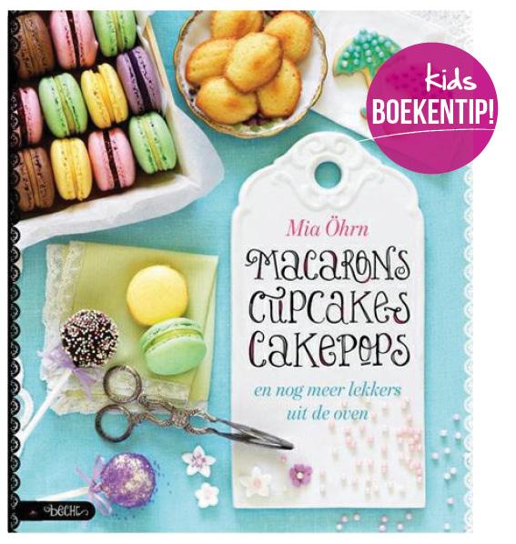 kinderboeken tip macarons cupcakes cakepops