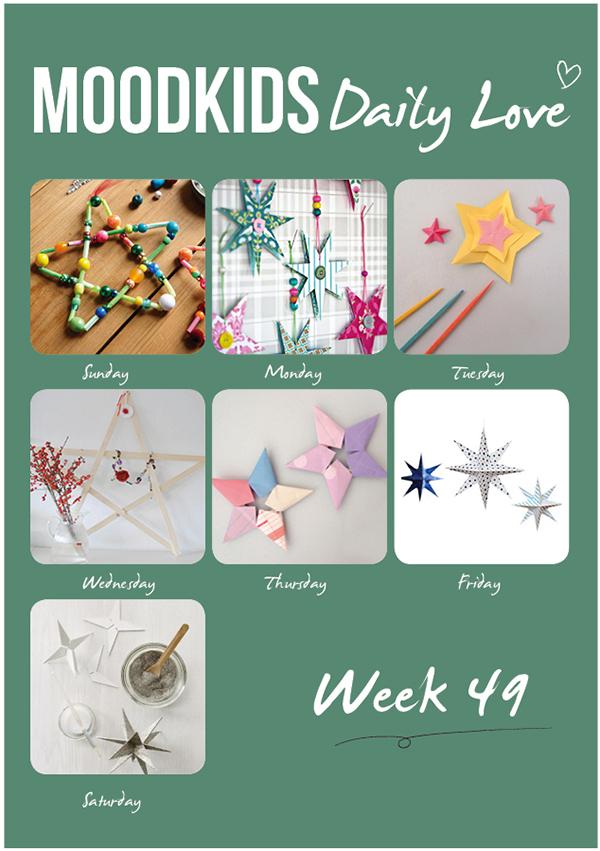 ster ornamenten zelf maken, origami ster