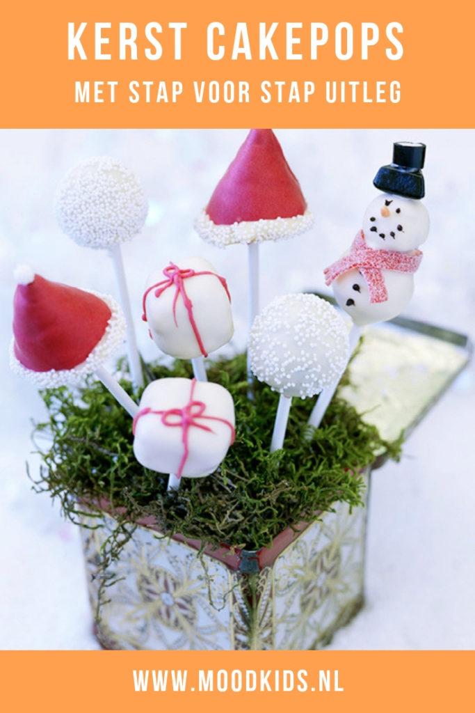 Cakepops zijn eigenlijk niets anders dan gedecoreerde cake op een stokje. In dit recept 4 manieren voor kerst cakepops. #kerstmis #cakepops