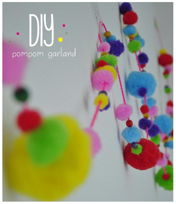Maak zelf een kleurrijke pompom slinger voor de kinderkamer of je woonkamer. Hydi legt je stap voor stap uit hoe je deze maakt. Easy peasy! Je leest het hier.