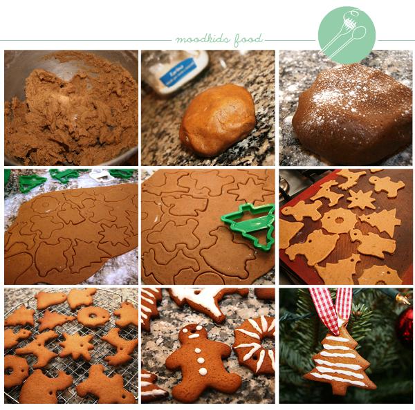Zelf kerstkoekjes bakken voor in de kerstboom of leuk om te geven #kerst #bakken