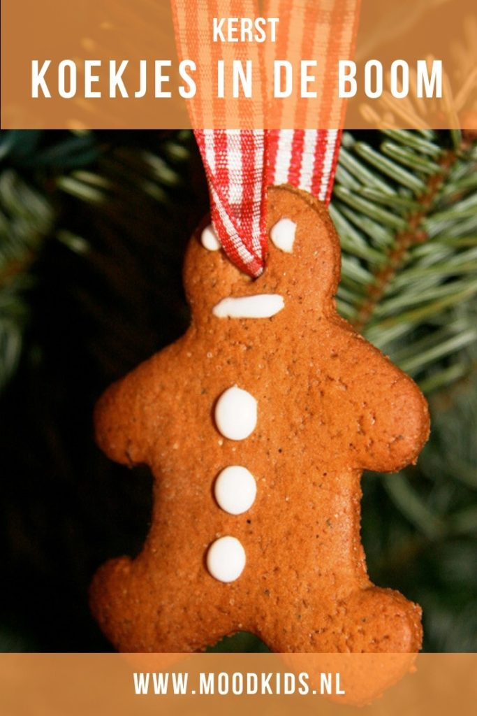 Deze koekjes zijn leuk om in de kerstboom op te hangen of als cadeautje te geven in een zakje. Met dit recept maak je 30-35 kerstkoekjes. #kerst