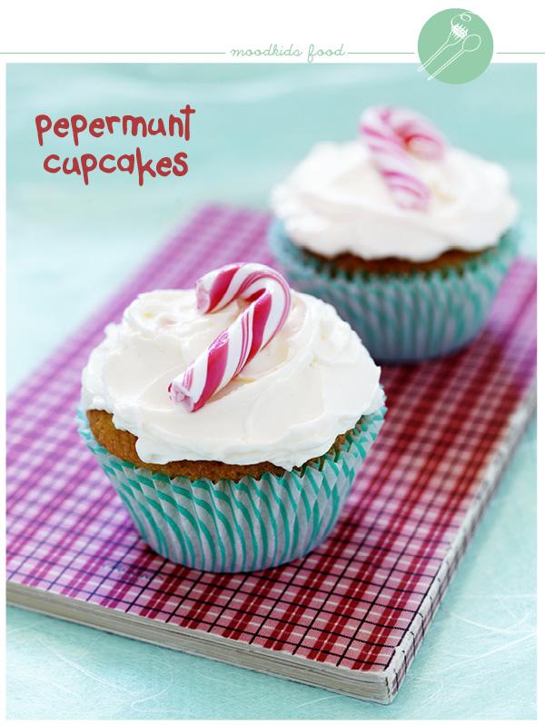 recept pepermunt cupcakes