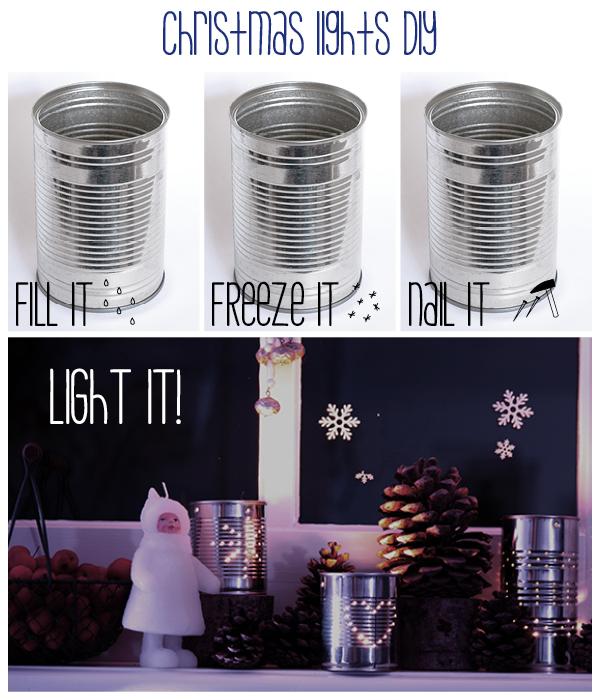 how to make a latern out of a tin can #diy from www.moodkids.com - zelfmaak idee conservenblik wordt lantaarn #diy op www.moodkids.nl