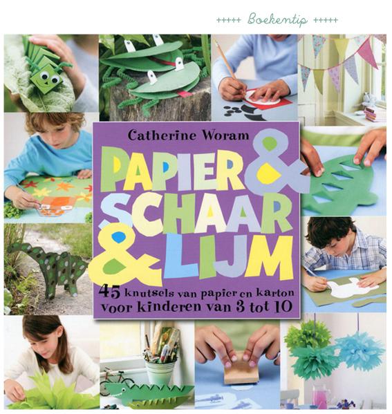 papier & schaar & lijm knutselboek voor kinderen