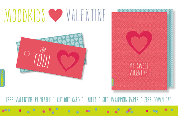We have an English version of this cute free Valentine's Day printable for you. Surprise your Valentine with this free download. Enjoy!