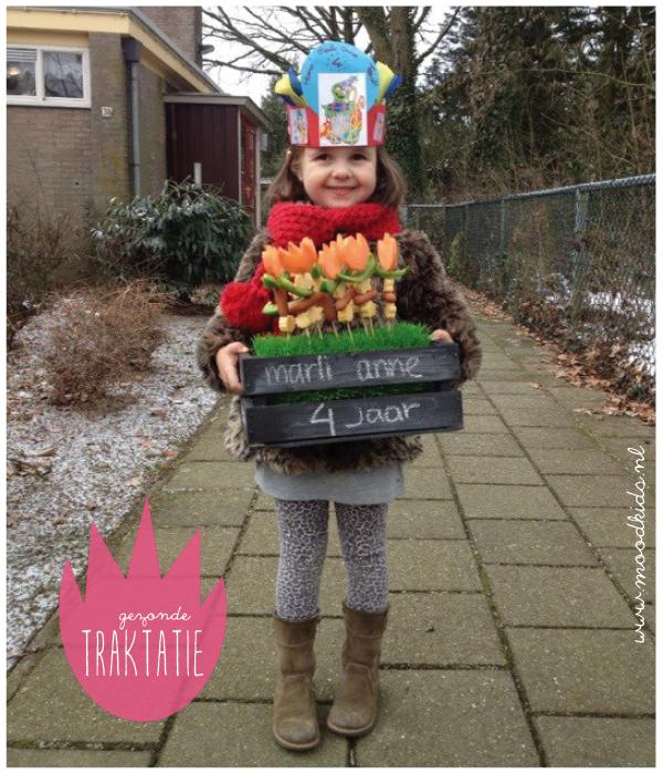 gezonde traktatie voor op school - healthy treat for school