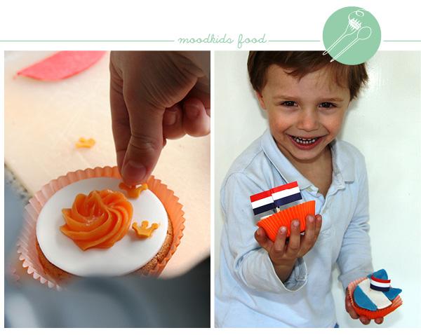 k(r)onings cupcakes #kroning recept www.moodkids.nl