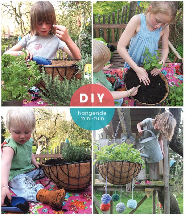 maak zelf een hangende tuin #diy maandagdaandag op www.moodkids.nl