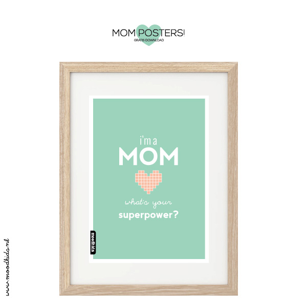 Mother's Day Printable by Moodkids.nl @moodkids