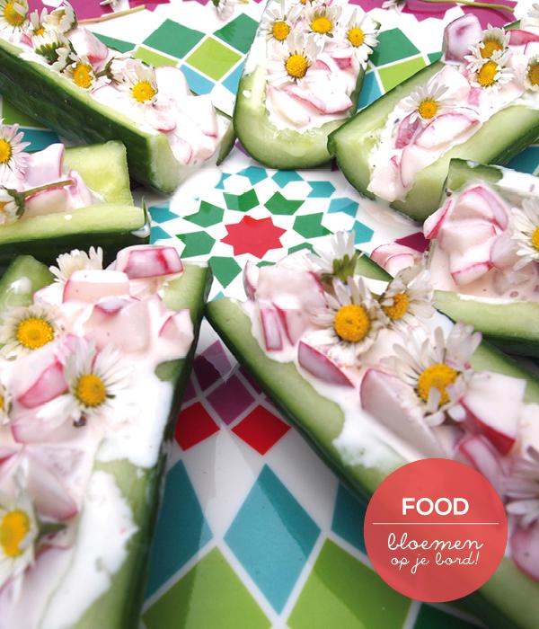 eetbare bloemen recept voor kinderen