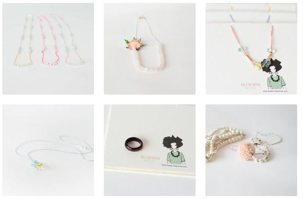 bloesem wear sieraden voor moeder en dochter door Irene hoofs
