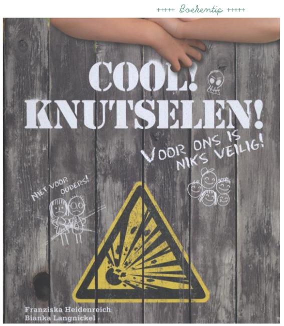 cool! knutselen! voor jongens, een doeboek met DIY projecten die speciaal voor jongens bedacht zijn