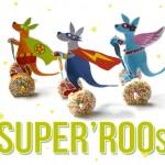 Traktatie superheld kangoeroes