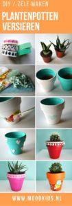Plantenpotten versieren heel veel leuke ideetjes moodkids - Hoe een volwassen slaapkamer te versieren ...