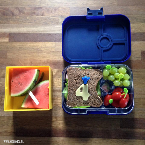 watermeloen ijsje in lunchtrommel