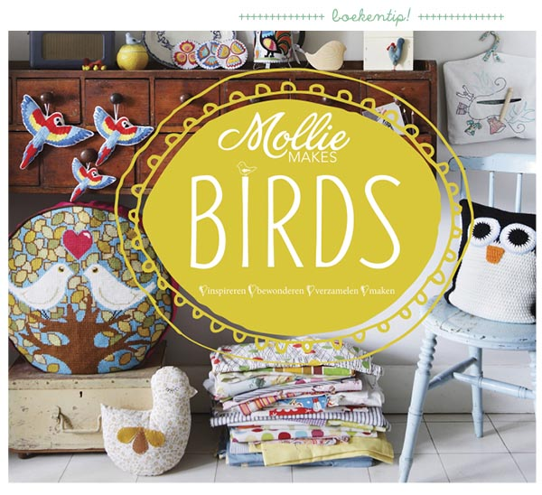 mollie makes birds #diy, vogels maken