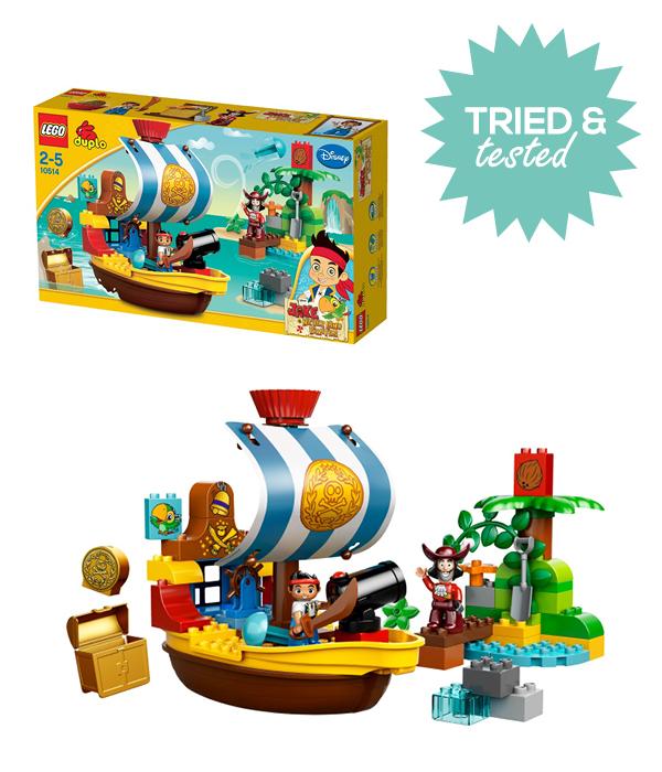duplo Lego Jake en de Nooitgedachtland Piraten van Disney review