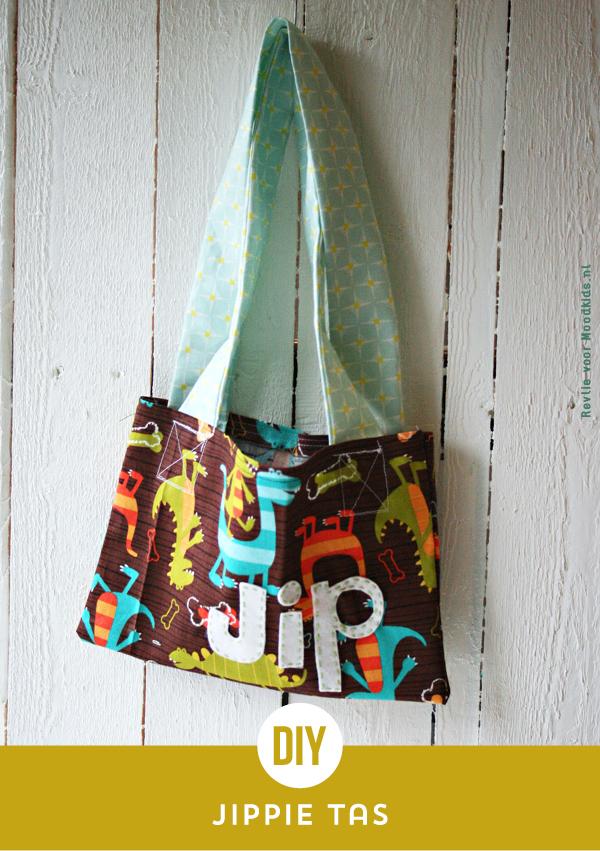 maak zelf een DIY tas van stof