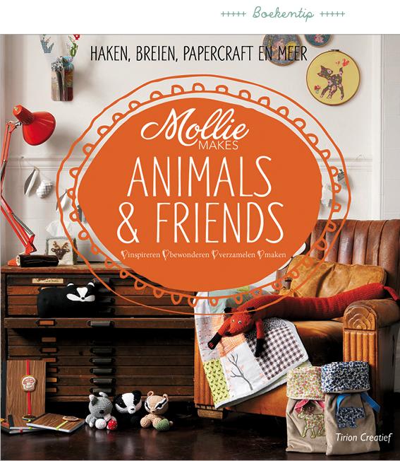 mollie makes animal friends, creatieve doeboeken voor kinderen vind je op www.moodkids.nl