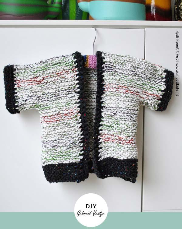 eenvoudig vestje breien vor beginners patroon diy