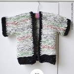 Kindervestje breien- met korte mouw