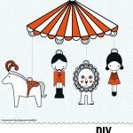 DIY Circus mobile