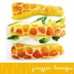 BENTO Giraffenbroodjes