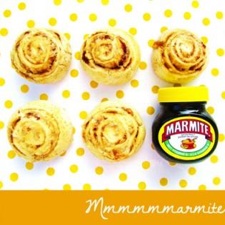 BENTO Spiraalbroodjes met Marmite