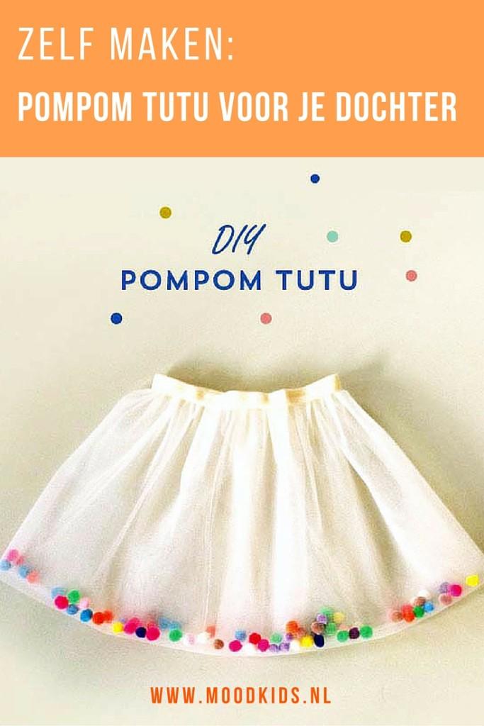 Een tutu maken in 30 minuten kan! Is jouw dochter een echte ballerina? Maak dan zelf een tule tutu. Steel de show met deze feestelijke pompom tutu! Bekijk de tutorial
