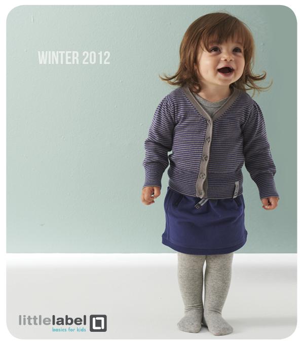 gebreide winterbasics van little label | moodkids