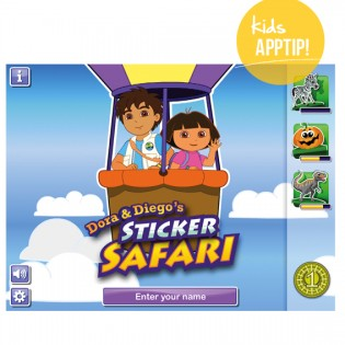 Appreview Dora en Diego Sticker Safari