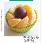 BENTO Mandarijnen Cupcake