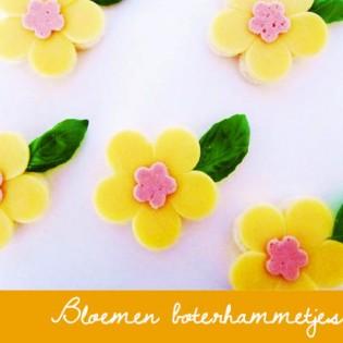 BENTO Bloemen boterhammetjes